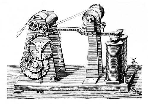 Telegraph invented by Morse