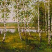 A.Kuritsyn. Birches