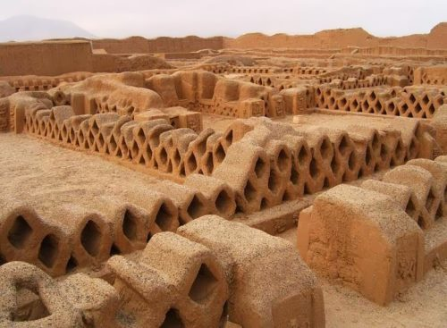 Ancient city Chan Chan