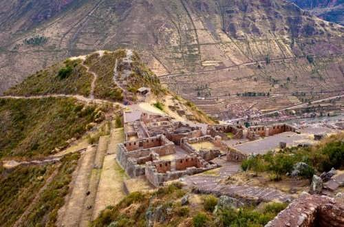 Ancient city Pisac