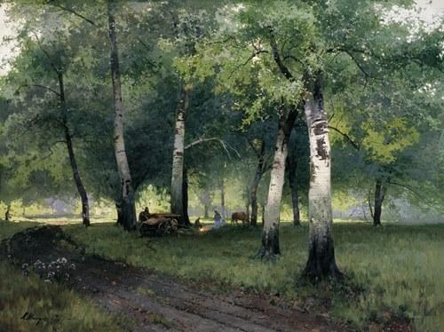 Andrei Mylnikov. Birch in Krasnopole, 1986