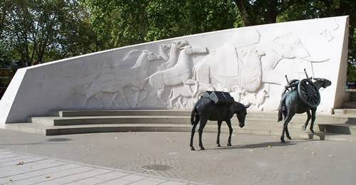 Animals in War Memorial