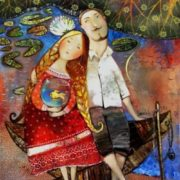 Anna Silivonchik. Gold fish