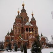 Cathedral in Peterhof