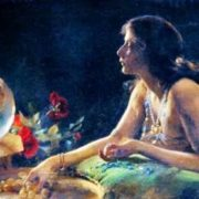 Charles Courtney Curran. Goldfish