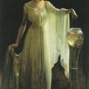Charles Courtney Curran. The Goldfish