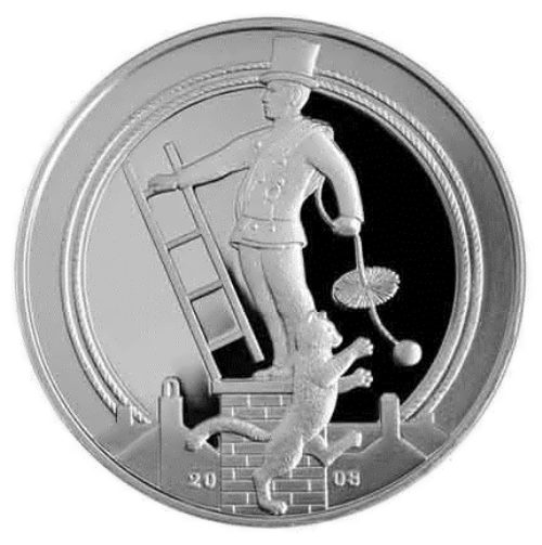 Chimney sweep on he coin