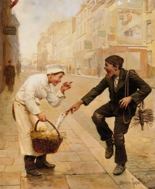 Chocarne-Moreau, Paul Charles. The Unexpected Surprise