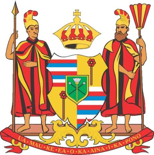 Coat of arms of the Kingdom of Hawaii
