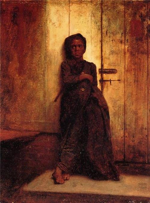 Eastman Johnson The Young Sweep 1863