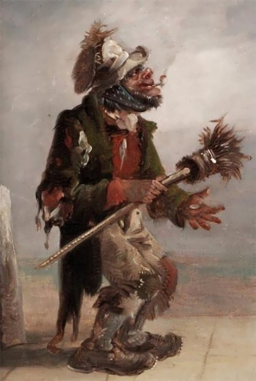 Erskine Nicol. The Chimney Sweep.