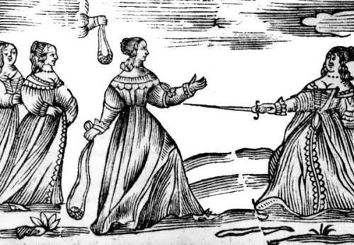 Duels between women