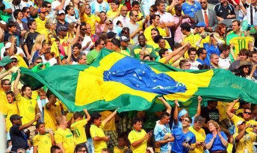 Brazilian soccer fans