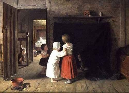 Frederick Daniel Hardy. The Chimney Sweep