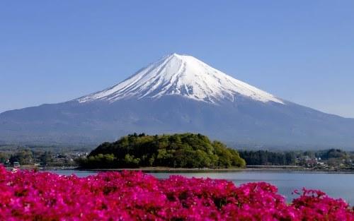 Fujiyama in summer