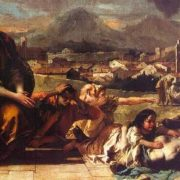 Giovanni Battista Tiepolo. Holy saving the town from plague