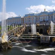 Grand Cascade and Palace
