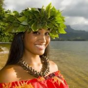 Hawaiian woman
