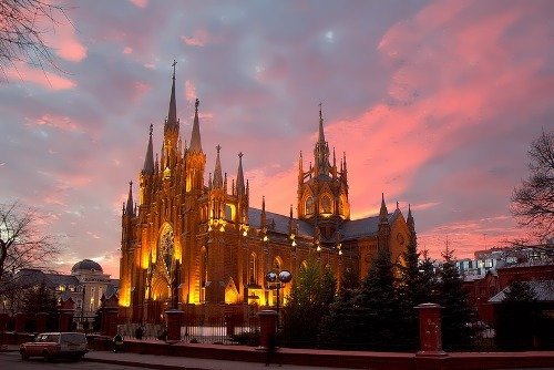 The Cathedral of the Immaculate Conception of the Holy Virgin Mary