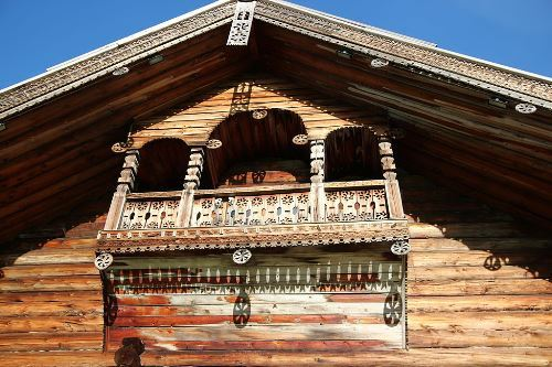 House of Yakovlev. Balcony