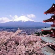 Beautiful nature of Japan