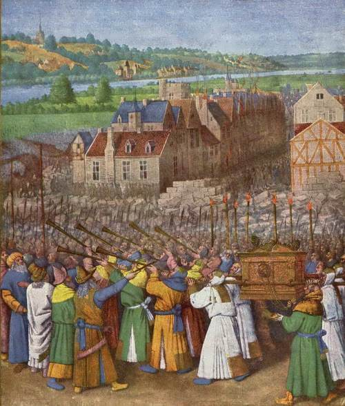 Jean Fouquet. Reproduction. Book of Hours by Etienne Chevalier