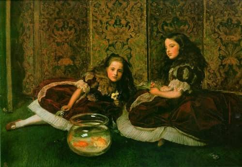 John Everett Millais. Leisure Hours