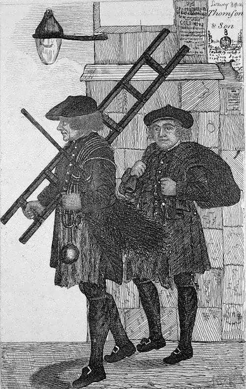 John Kay (British, 1742-1826). Chimney Sweepers