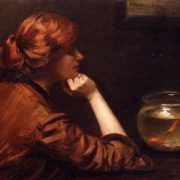 John White Alexander (1856 -1915). An Idle Moment
