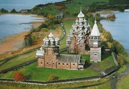 Amazing wooden church