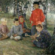 Nikolai Bogdanov-Belsky. Virtuoso, 1891