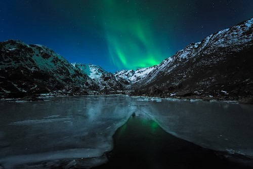 Northern Lights in Norway. Photo Stian Klo