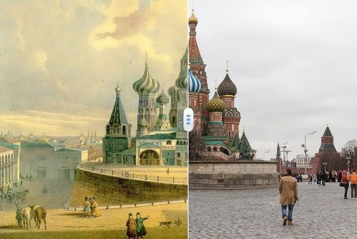 Old and new Moscow