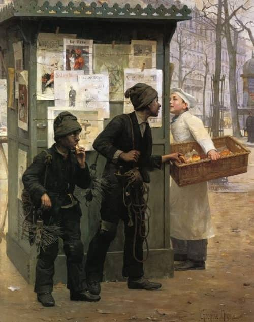 Paul-Charles Chocarne-Moreau. Opportunity makes the thief, 1896