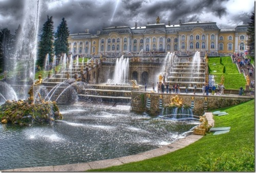 Peterhof - capital of fountains