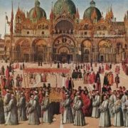 Procession on the Piazza San Marco in 1496