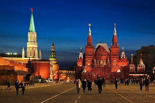 Red Square and Moscow Kremlin