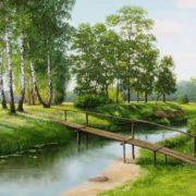 S. Serzhinsky. The river