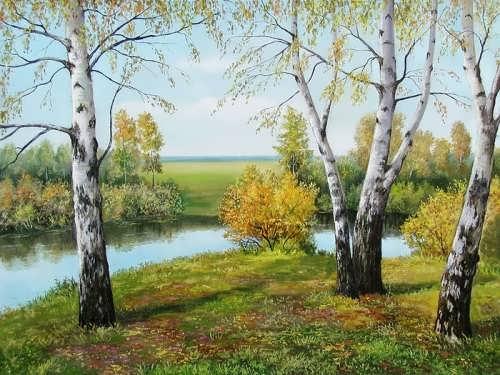 S.Serzhinsky. Birches