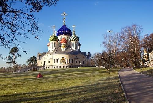 Temple of the Holy Prince Igor of Chernigov in Peredelkino