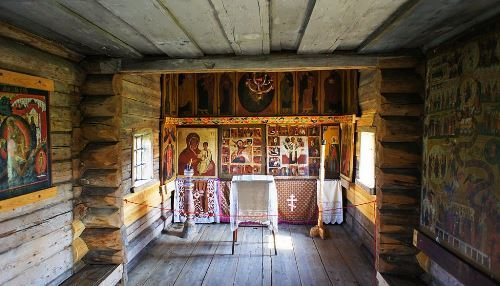 The Chapel of the Archangel Michael, interior