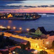 The merger of Oka and Volga