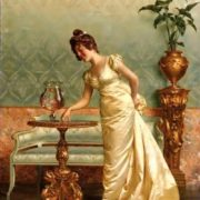 Vittorio Reggianini (Italian, 1858-1939). The goldfish