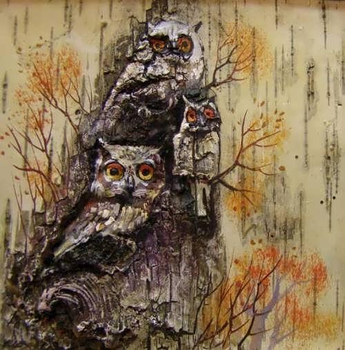 Vladimir Gerasimov. Owls