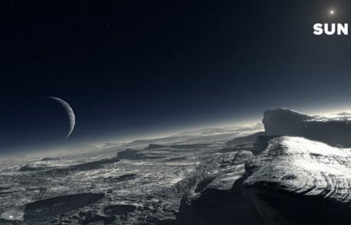 A day on Pluto is equal to six days on Earth