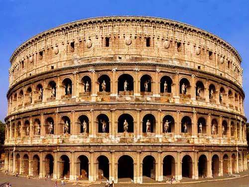 Colosseum Arena For Gladiators And Beasts Wander Lord