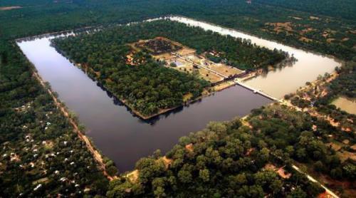 Angkor Wat from the air