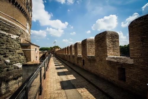 Castle's wall
