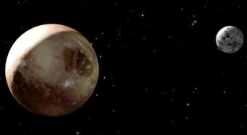 Charming Pluto