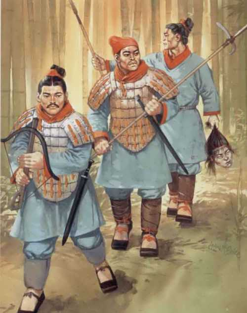 Chinese warriors